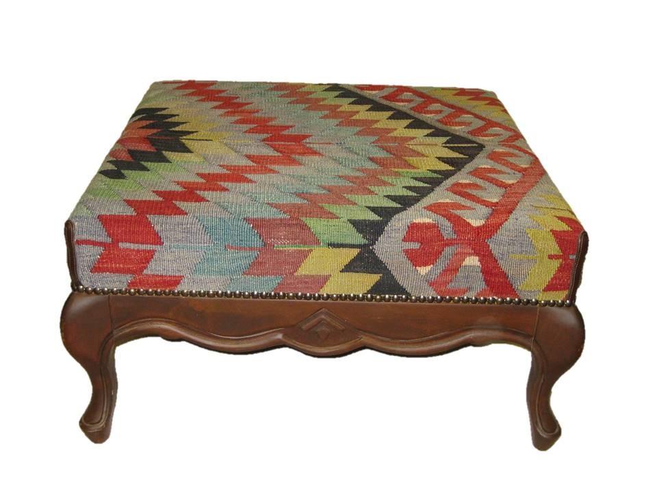 Kilim coffe table & Ottoman