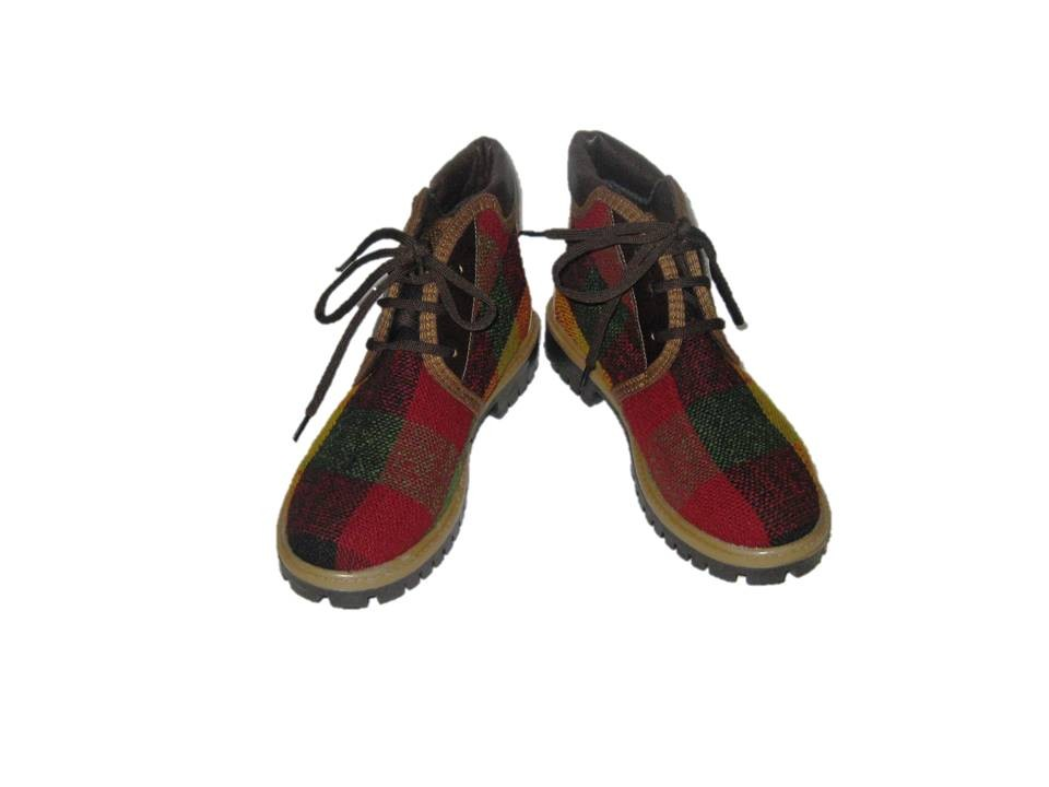 RUBBER SOLE BOOTS LIGHT KILIM