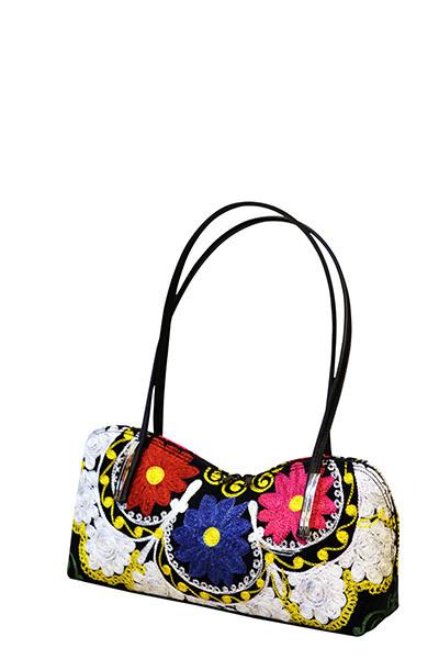 Scarlet Kilim Bag S-101