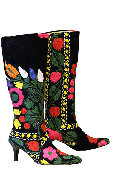 Scarlet Dalia Kilim Boots