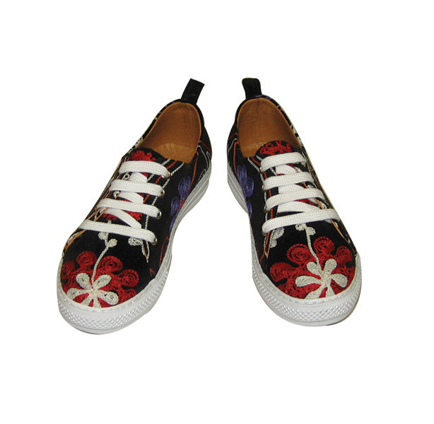 Scarlet Sneeker Kilim Shoes